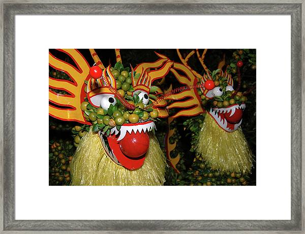 Asia, Vietnam Nagas Made With Oranges Framed Print by Kevin Oke