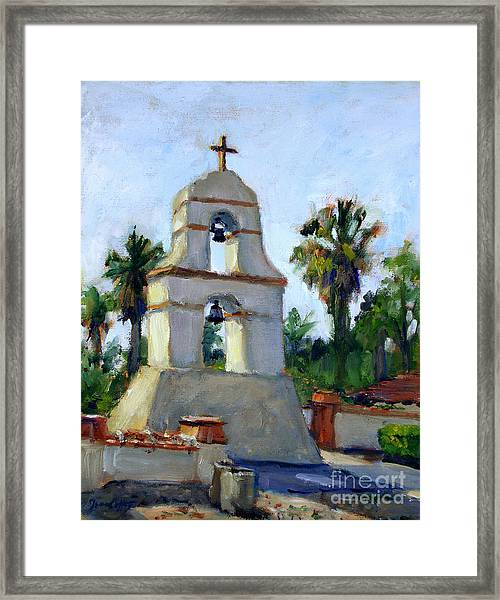 Asistencia Late Afternoon Framed Print