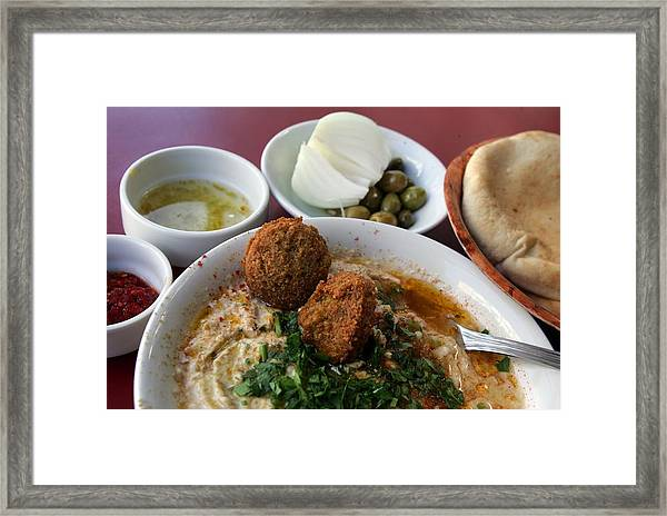 Aspects Of The Mediterranean Diet Framed Print by David Silverman
