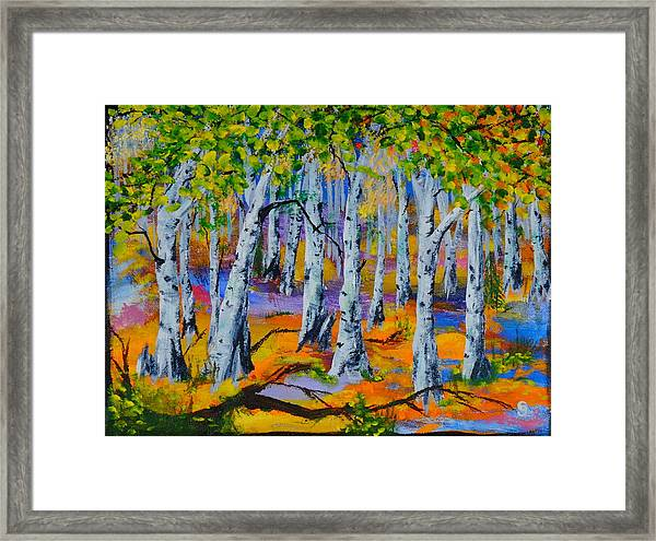 Aspen Friends In Walkerville Framed Print