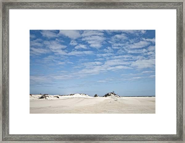 Assateague National Park Dunes Framed Print