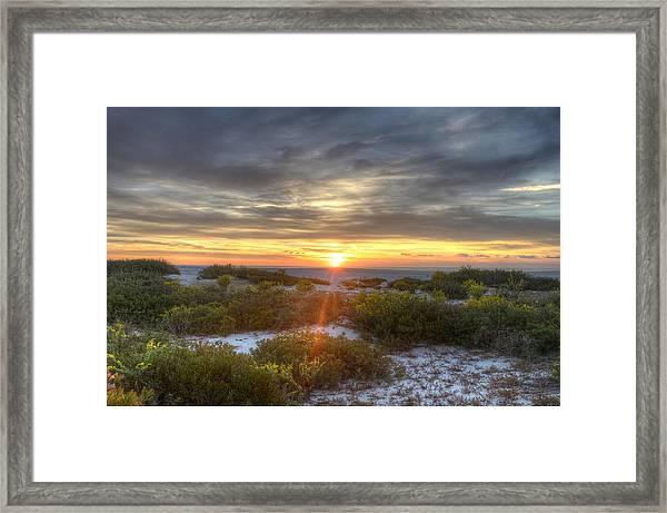 Asseteague Sunrise Framed Print