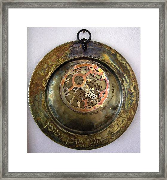 Astrolabe - Here At The Appointed Hour Framed Print
