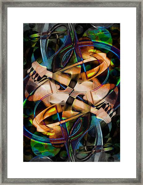 Asturias In G Minor Abstract Framed Print