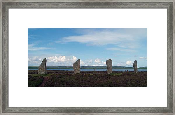 At Brodgar 2 Framed Print by Steve Watson