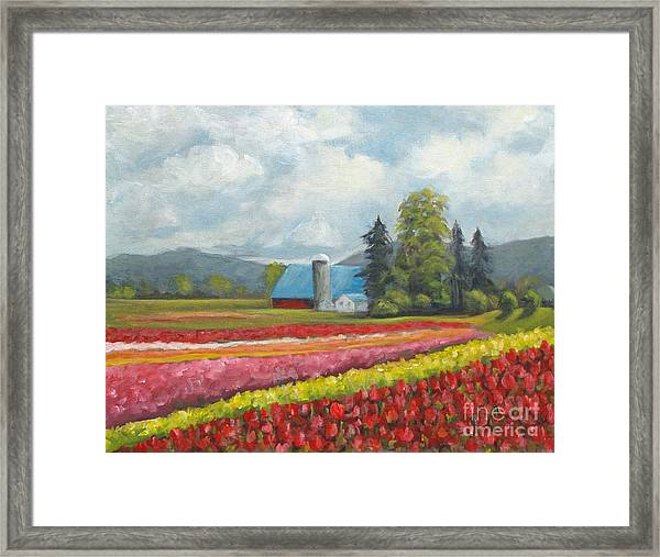 At Peterson And Avon Allen Framed Print