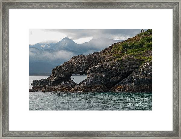 At The Heart Of It Framed Print