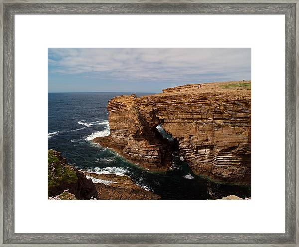 At Yesnaby Framed Print by Steve Watson