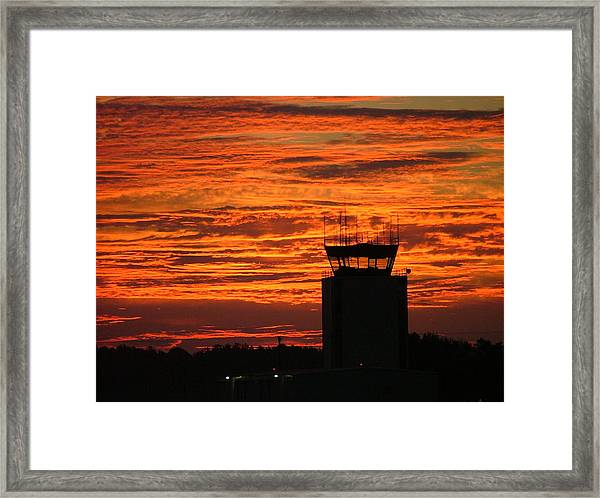 Atc Tower 001 Framed Print