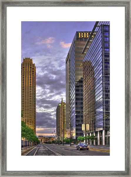 Atlanta 17th Street Atlantic Station Framed Print