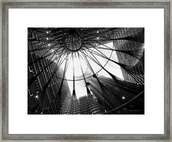 Atlanta Marriott Marquis Atrium Framed Print