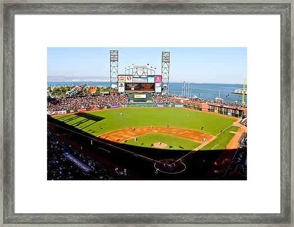 Att Park San Francisco  Framed Print