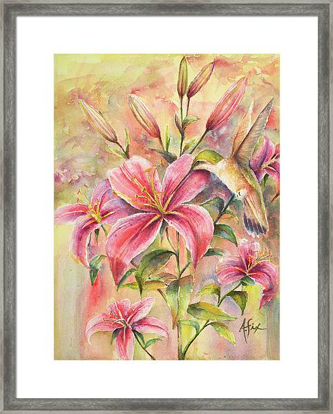 Attractive Fragrance Framed Print