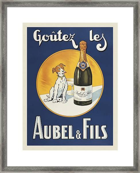 Aubel And Fils Framed Print by Vintage Images