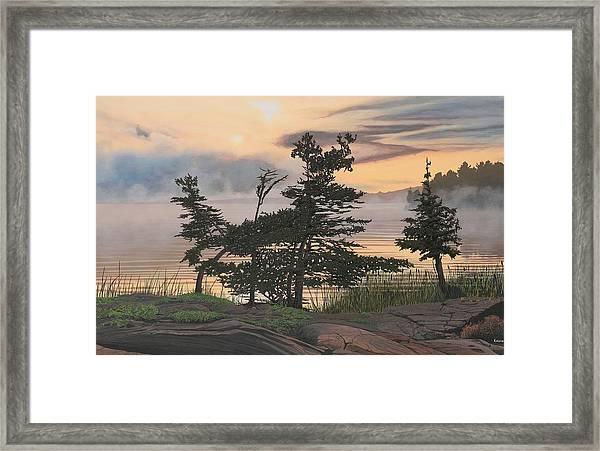 Auburn Evening Framed Print