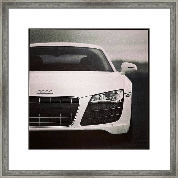 #audi #bmw #lamborghini #cars Framed Print