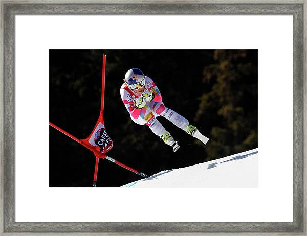 Audi Fis Alpine Ski World Cup - Womens Framed Print by Alexis Boichard/agence Zoom