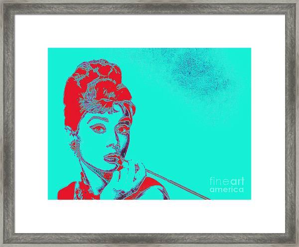 Audrey Hepburn 20130330v2p128 Framed Print