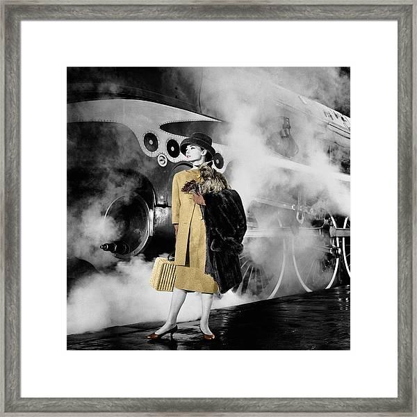 Audrey Hepburn 7 Framed Print