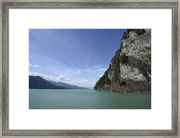 August Afternoon On Harrison Lake Bc Framed Print
