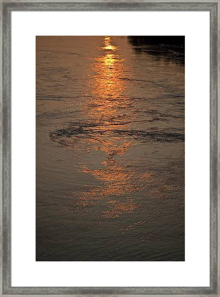 August's Finale Framed Print by Tom Trimbath