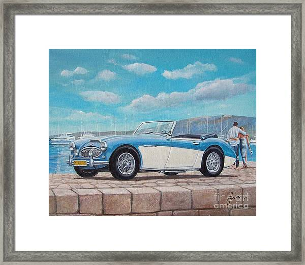Austin Healey Bj8 Mark IIi Framed Print