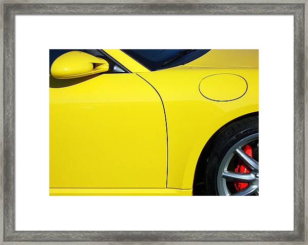 Auto Abstract Framed Print