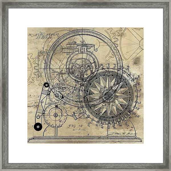 Autowheel II Framed Print