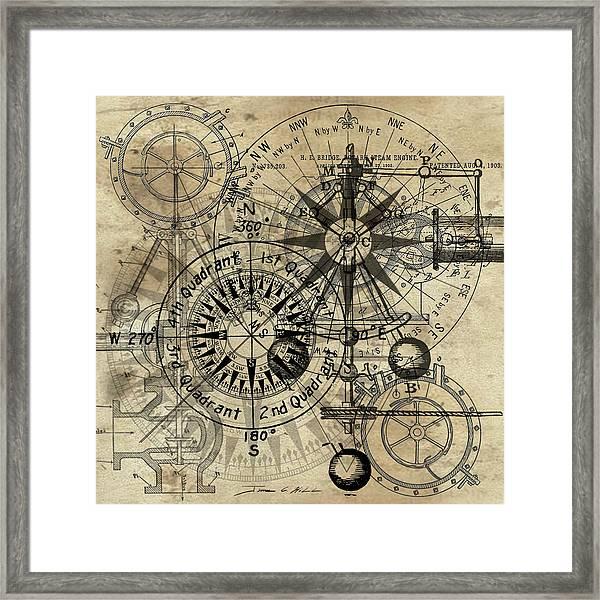 Autowheel IIi Framed Print