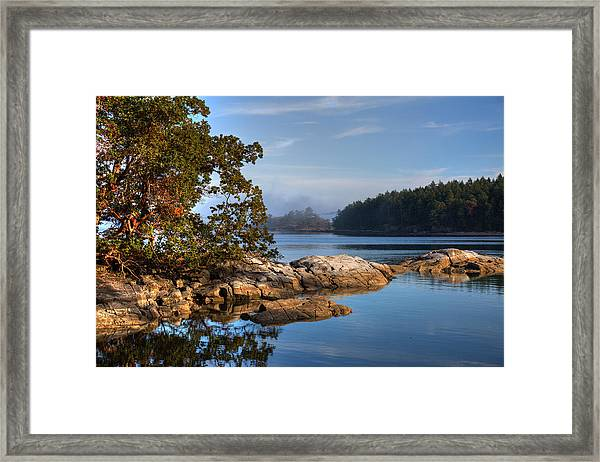 Framed Print featuring the photograph Autumn Afternoon by Randy Hall