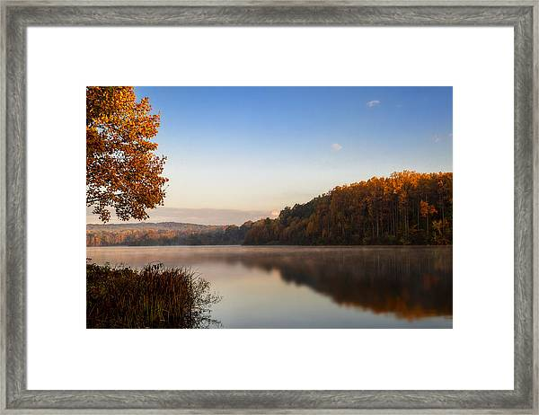 Autumn At Chambers Lake Framed Print