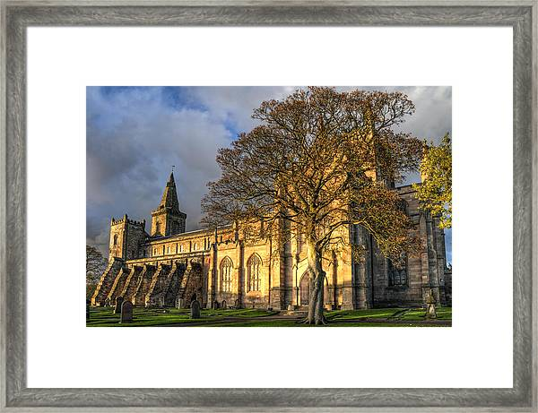 Autumn At Dunfermline Abbey Framed Print