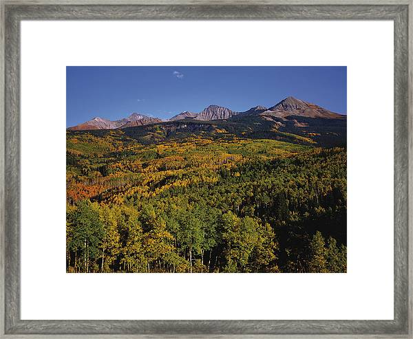Autumn At Mt. Wilson Framed Print