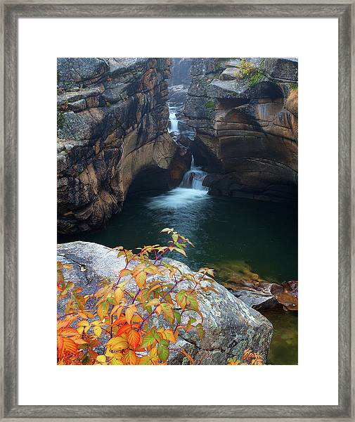 Autumn At The Grotto Framed Print