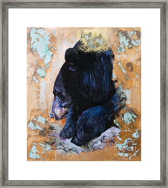 Autumn Bear Framed Print
