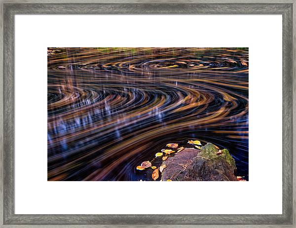 Autumn Chaos Framed Print