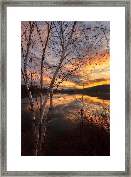 Autumn Dawn Framed Print