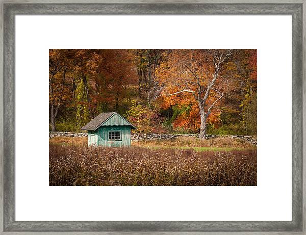 Autumn Getaway Framed Print