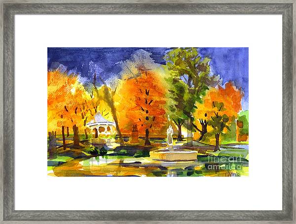 Autumn Gold 2 Framed Print