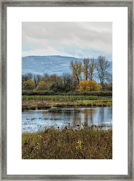 Autumn Haven Framed Print