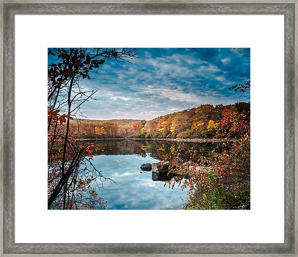 Autumn In Harriman State Park Framed Print