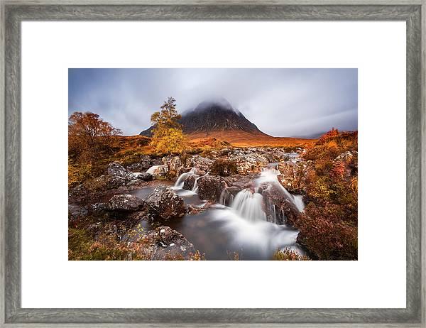 Autumn In The Glencoe Framed Print