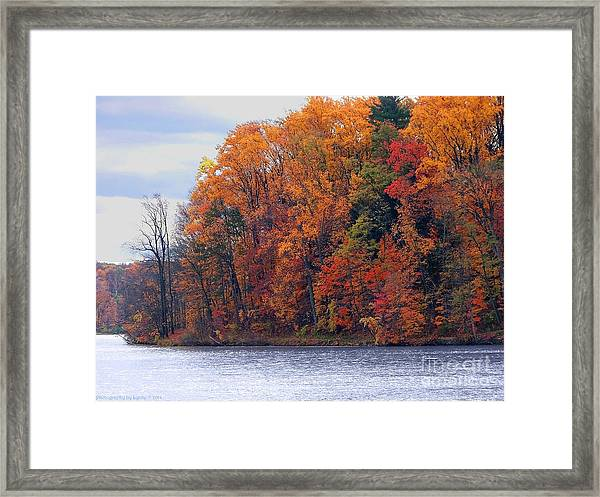 Autumn Is Upon Us Framed Print