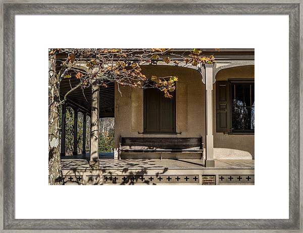Autumn Leaving Framed Print