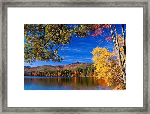 Autumn Mt Chocorua Nh Framed Print
