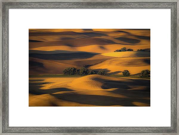 Autumn Of Rolling Hills Framed Print