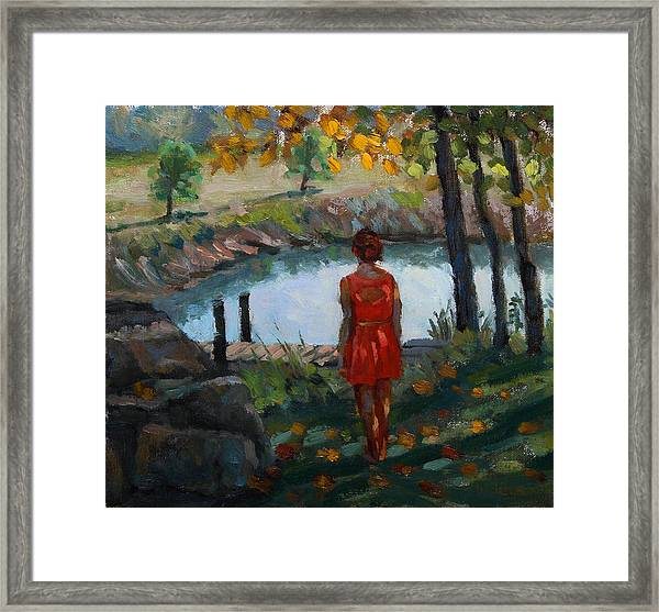 Autumn On Jug Creek Framed Print