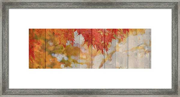 Autumn Outdoors 2 Of 2 Framed Print