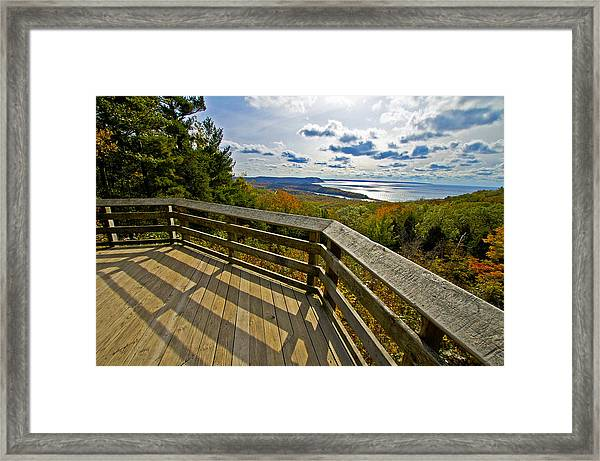 Autumn Overlook Framed Print