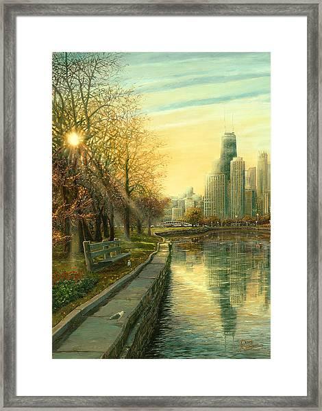 Autumn Serenity II Framed Print